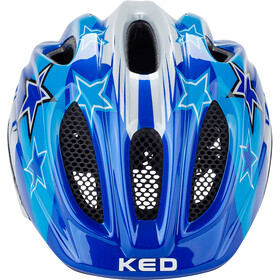 KED Meggy Helmet Kinder blue stars